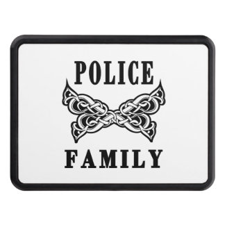 Police Family Tattoos Trailer Hitch Cover