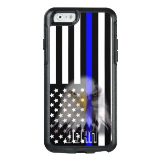 Police Flag | Faded Eagle OtterBox iPhone 6/6s Case