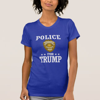 POLICE FOR TRUMP T-Shirt