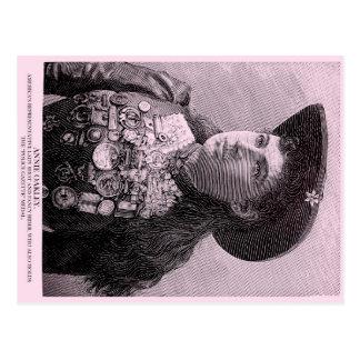 Police Gazette postcard Annie Oakley