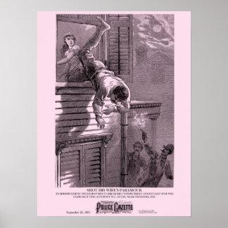 Police Gazette poster Paramour