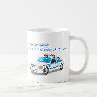 Police Humor Mug