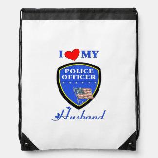 Police Husband Backpack