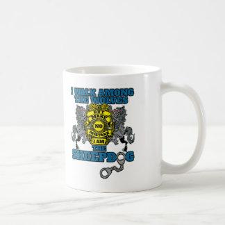Police I Am the Sheepdog Coffee Mug