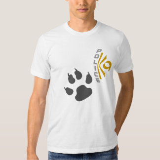 Police K9 - Patte T Shirts