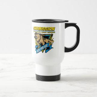 Police K9 Submission Travel Mug