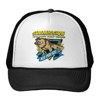 Police K9 Submission Trucker Hat