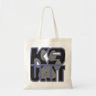 Police K9 Unit Paw Print Budget Tote Bag