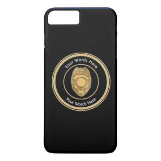 Police Lieutenant Badge Custom Universal iPhone 7 Plus Case