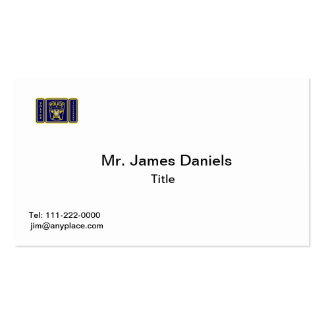 Police Lieutenant Business Cards