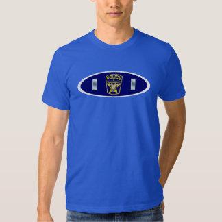 Police Lieutenant Shield T Shirts