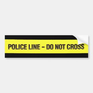 Police Line Do Not Cross sticker
