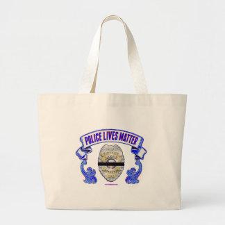 Police_Lives_Matter2 Large Tote Bag