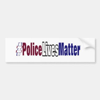 # Police lives matter Bumper Sticker