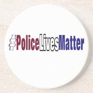 # Police lives matter Coaster