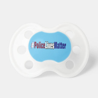 # Police lives matter Pacifiers
