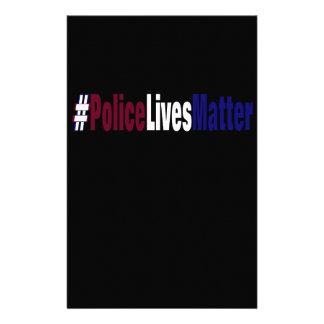# Police lives matter Stationery