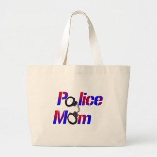 Police Mom Canvas Bag