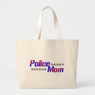 Police Mom Tote Bags