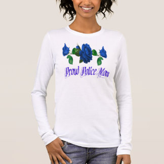Police Mom Long Sleeve T-Shirt