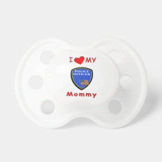Police Mom Love Pacifier