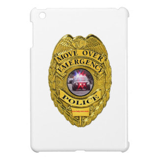 Police_Move_Over iPad Mini Cover