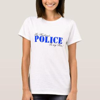 POLICE My Husband... Is my Hero! T-Shirt