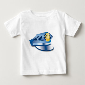Police Officer Hat Baby T-Shirt