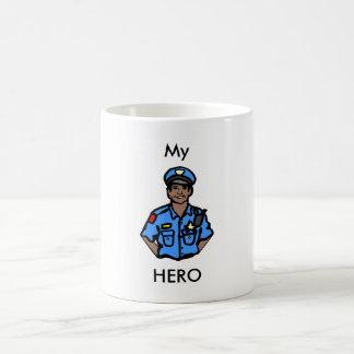 Police Officer Hero Coffee Mug