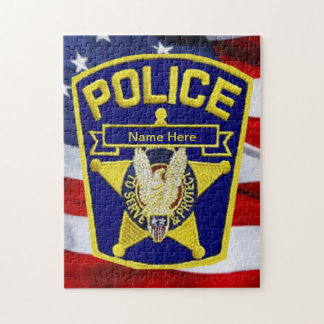 Police Officer Jigsaw Puzzle