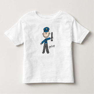 Police Officer Stick Figure Shirts