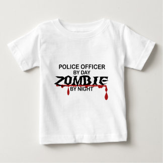 Police Officer Zombie T-shirts
