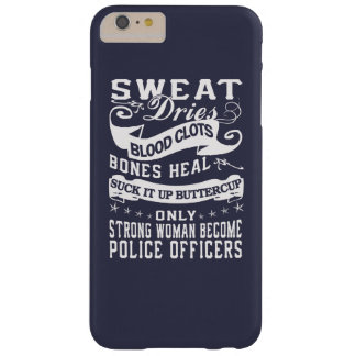 Police officers barely there iPhone 6 plus case