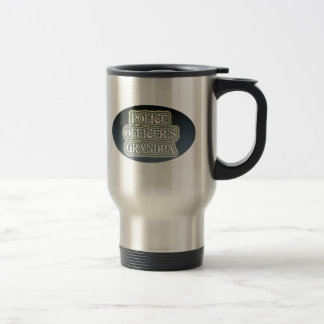 Police Officer's Grandpa Travel Mug