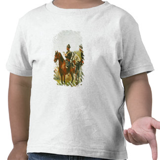Police Officers on an Inspection Tour Tee Shirt
