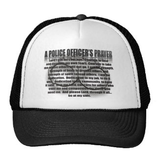 POLICE OFFICERS PRAYER HAT