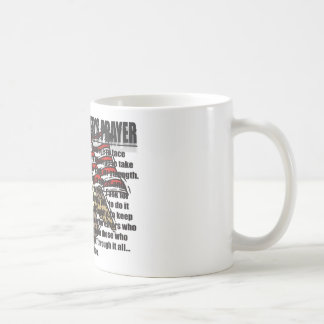 POLICE OFFICERS PRAYER WITH EAGLE COFFEE MUG