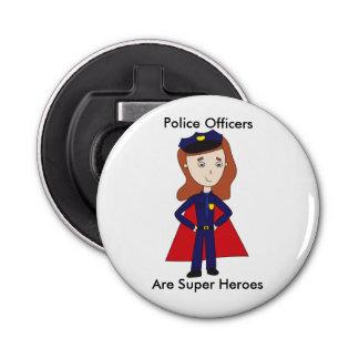 Police Officers Super Heroes (Female) Bottle Opener