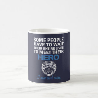 Police Officer's Wife Coffee Mug