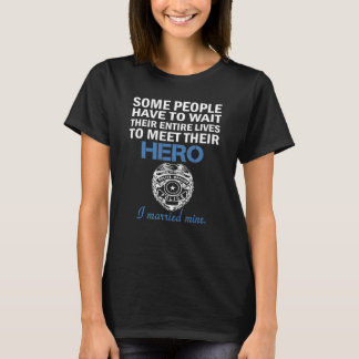 Police Officer's Wife T-Shirt