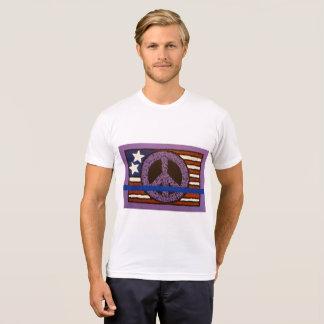 Police Peace Flag T-Shirt