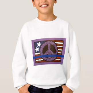 Police Peace Sign. Sweatshirt
