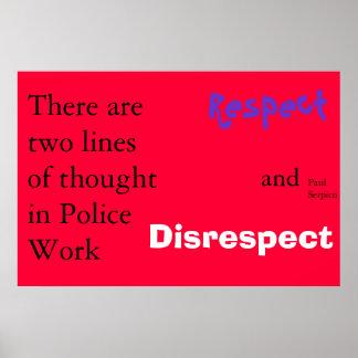 police philosophy print