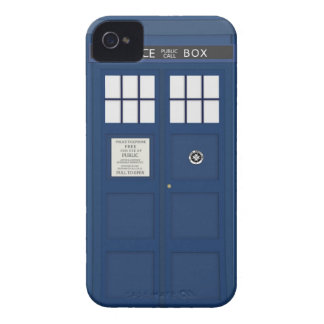 Police Phone Call box iPhone 4S cover
