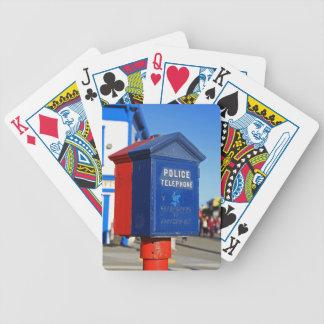 Police Phone- vertical Poker Deck