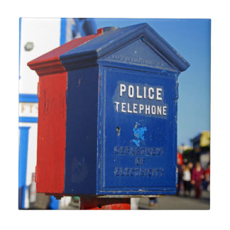 Police Phone- vertical Tiles