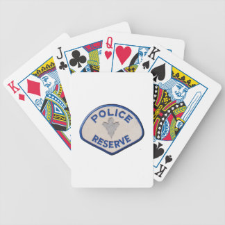 Police Reserve Bicycle Playing Cards