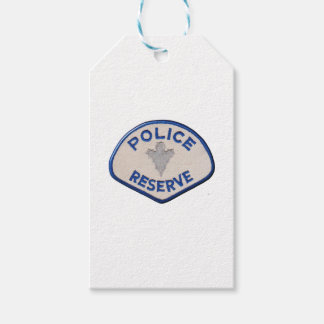 Police Reserve Gift Tags