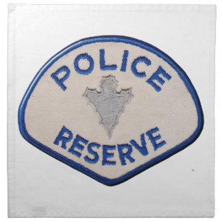 Police Reserve Napkin