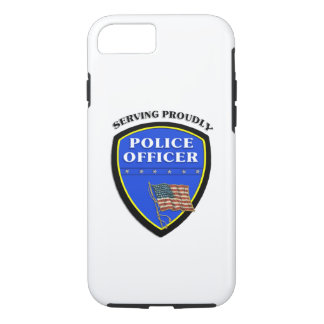 Police Serving Proudly iPhone 8/7 Case